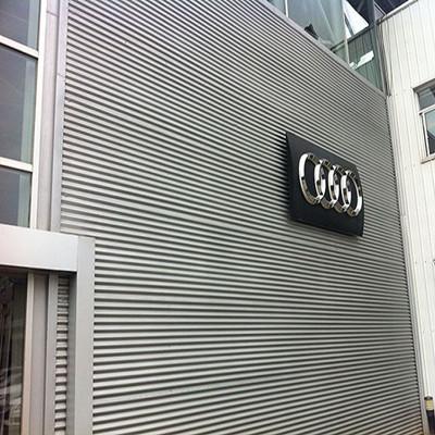 息县4S店铝镁锰墙面板